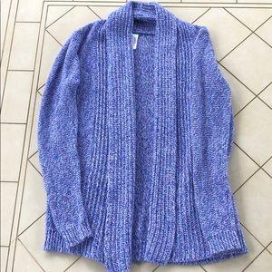 Cat&Jack Purple Cozy Sweater Cardigan SZ L (10/12)